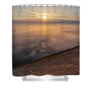 Lake Michigan Overlook 13 Shower Curtain
