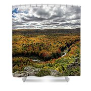 Lake Of The Clouds 10 Shower Curtain