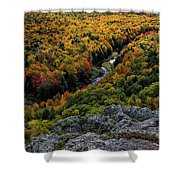 Lake Of The Clouds 7 Shower Curtain