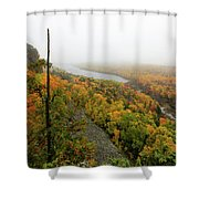 Lake Of The Clouds 9 Shower Curtain