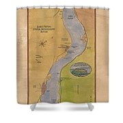 Lake Pepin Shower Curtain