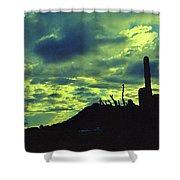 Lake Pleasant Az 052a Shower Curtain