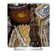 L'altare Di Bernini Shower Curtain