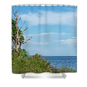 Landscape By The Sound Shower Curtain