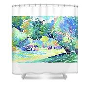Landscape - Digital Remastered Edition Shower Curtain