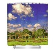 Landscape Gardening Shower Curtain