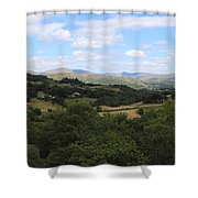 Landscape View From Little Langdale Shower Curtain