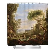 Landscape With Water Shower Curtain