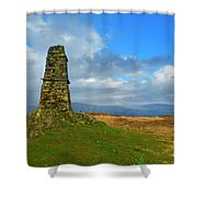 Latterbarrow In Lake District National Park Cumbria Shower Curtain