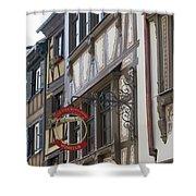 Le Tire Bouchon Winstub Sign Shower Curtain