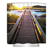 Lead Me To The Light Shower Curtain