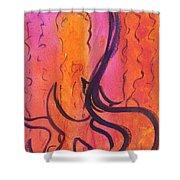 Leah Laya 3 Shower Curtain