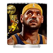 Lebron Shower Curtain