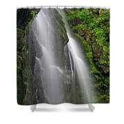 Lee Falls Close Up Shower Curtain