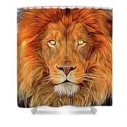 Leo 2a Shower Curtain