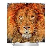 Leo 2b Shower Curtain