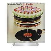 Let It Bleed Shower Curtain