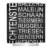 Liechtenstein 1 Shower Curtain