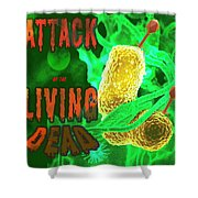 Life Poster Shower Curtain