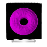 Life Savers Grape Shower Curtain