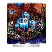 Lifeforce  Shower Curtain
