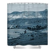 Light And Shadow In West Dakota Shower Curtain by Cris Fulton