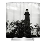 Lighthouse Shower Curtain by Michelle Wermuth