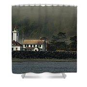 Lighthouse - Port Wilson Shower Curtain