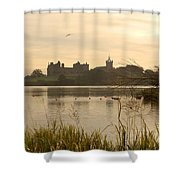 Linlithgow Palace At Dusk Shower Curtain