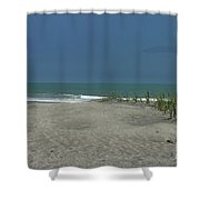 Litchfield By The Sea  Shower Curtain