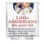 Little Americans Do Your Bit Shower Curtain