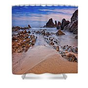 Little Corona Del Mar Beach Vi Shower Curtain