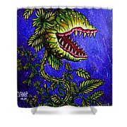 Little Shop Of Horrors Shower Curtain
