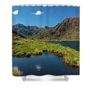 Loch Coriusk, Isle Of Skye Shower Curtain