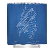 Log Loader Patent Shower Curtain