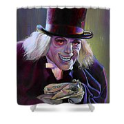 Lon Chaney In London After Midnight Shower Curtain