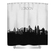 London Cityscape Art Shower Curtain