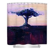 Lone Tree No. 18 Shower Curtain