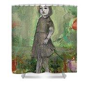 Look Around Shower Curtain