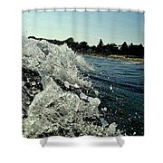 Look Into The Wave Shower Curtain