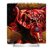 Lord Of Darkness Shower Curtain