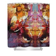 Lost Among Us Shower Curtain