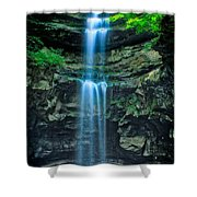 Lost Creek Falls Shower Curtain