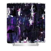 Lost In The City Shower Curtain
