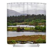 Lough Cloonee  Shower Curtain