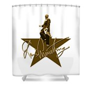 Louis Armstrong - Signature Shower Curtain