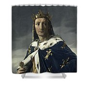 Louis Viii, King Of France Shower Curtain