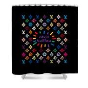 Louis Vuitton Monogram-11 Shower Curtain