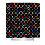Louis Vuitton Monogram-2 Shower Curtain