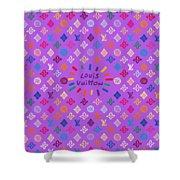 Louis Vuitton Monogram-5 Shower Curtain